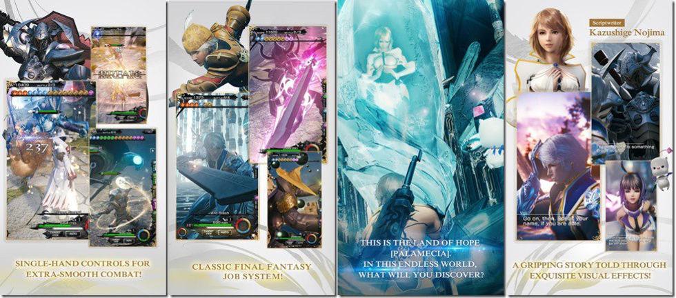 Mobius Final Fantasy nu släppt i västvärlden