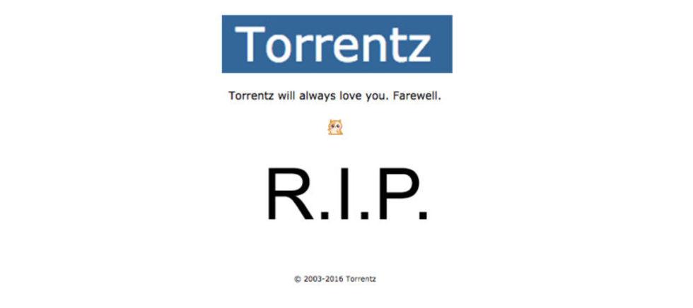 Torrentz.eu har stängts ner
