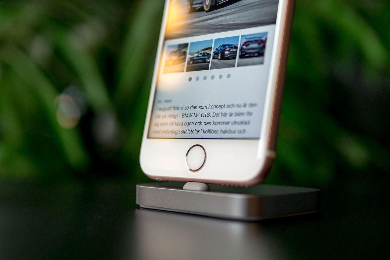 Virtuell Hemknapp Iphone 7