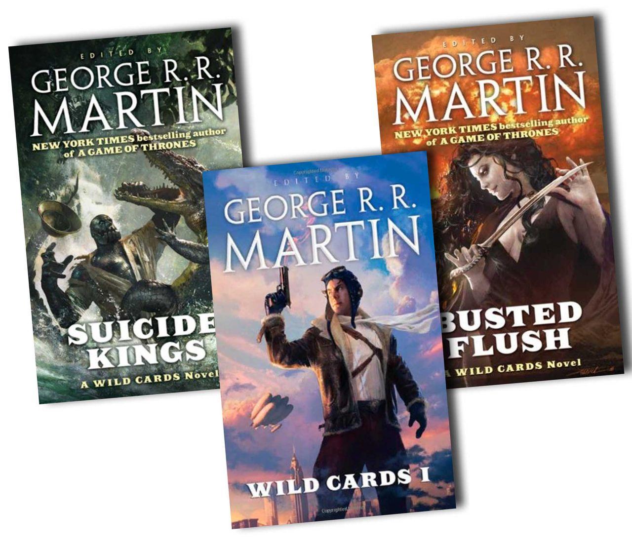George R.R. Martins Wild Cards-böcker skall bli tv-serie