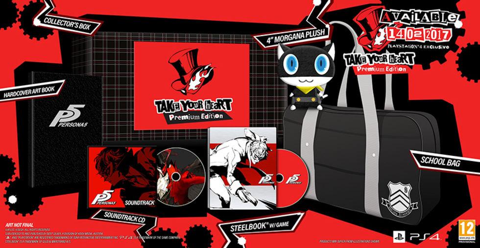 Släppdatum för Persona 5