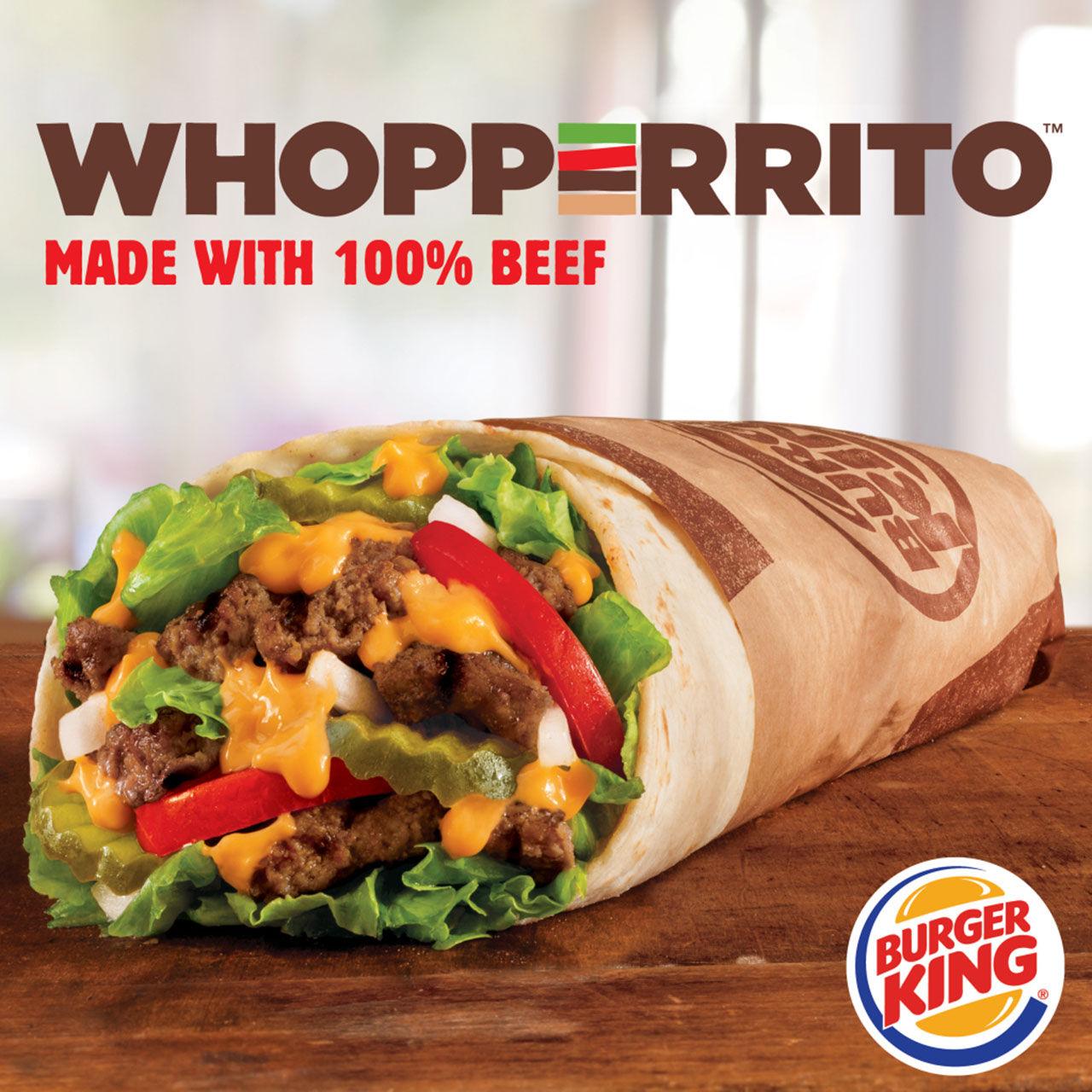Burger King blandar en Whopper med en burrito
