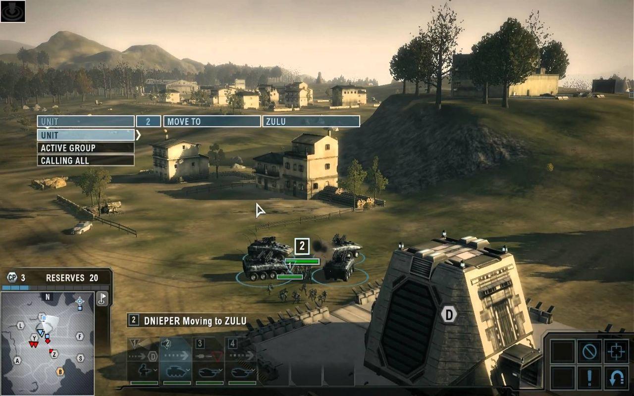 Tom Clancy's EndWar finns nu på PlayStation Plus
