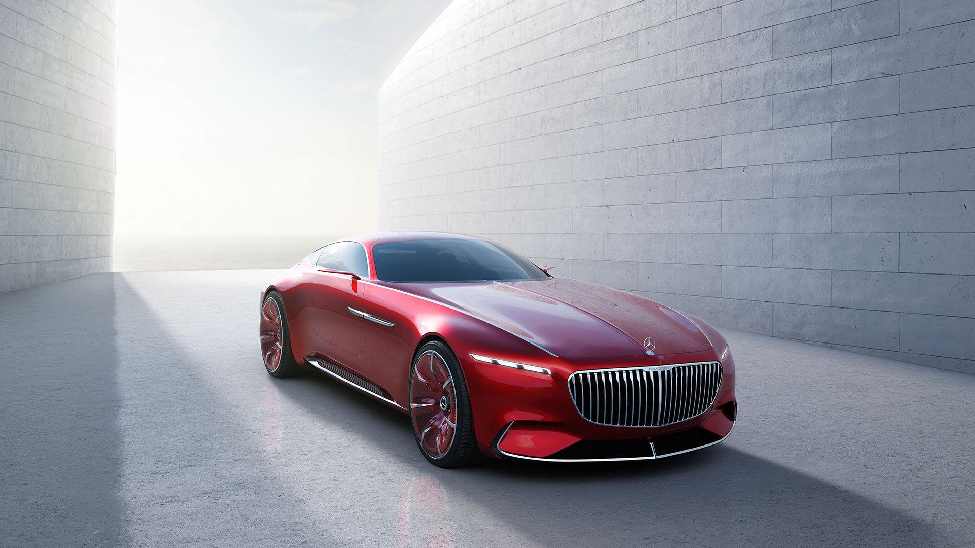 Det här är Vision Mercedes-Maybach 6!