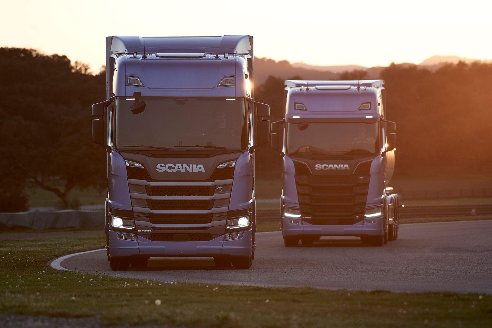 Scania visar en ny generation lastbilar