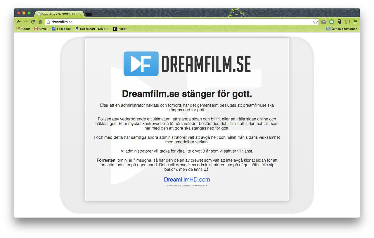 Männen bakom Dreamfilm åtalas i dag