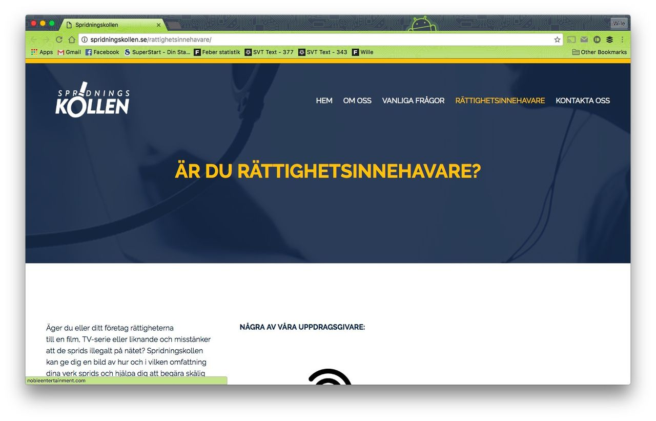Snart börjar Spridningskollen skicka kravbrev till svenska fildelare