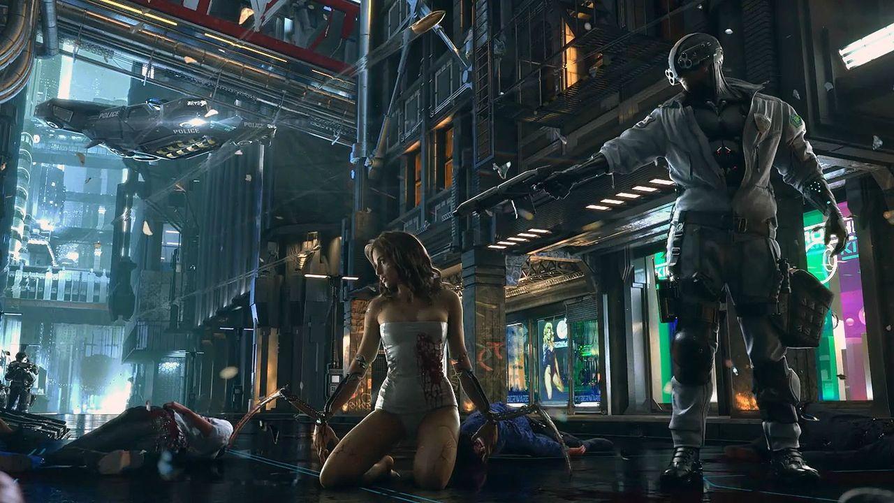 Fler jobbar med Cyberpunk 2077 än Witcher 3