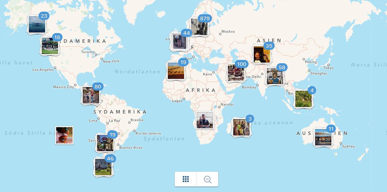 Instagram skippar kartfunktionen