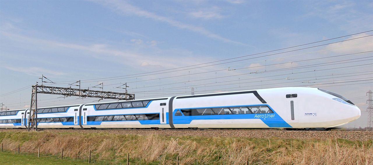 Aeroliner3000 kan komma att trafikera brittiska järnvägar i framtiden