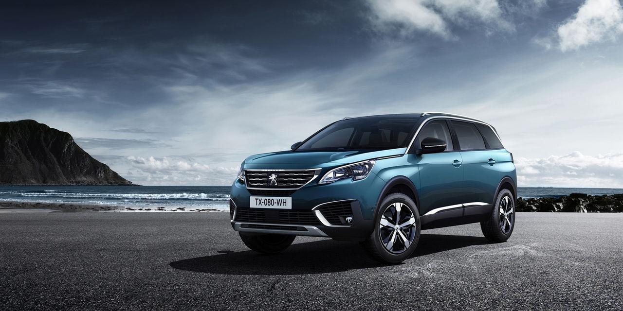 Peugeot 5008 blir SUV