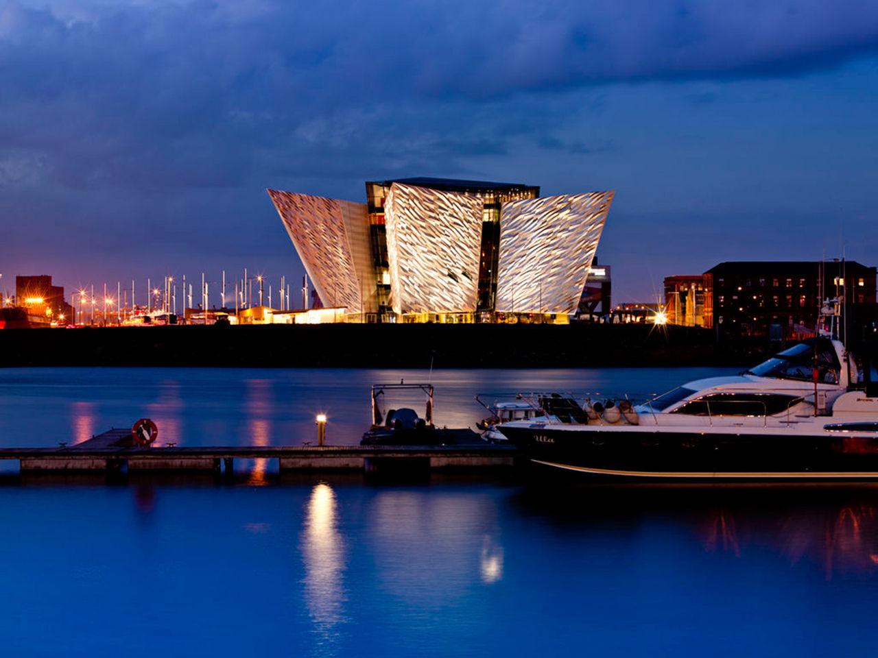 Titanic Belfast är Europas bästa turistattraktion