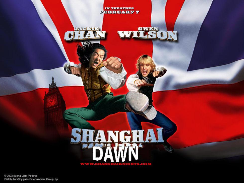 Jackie Chan och Owen Wilson återvänder i Shanghai Dawn