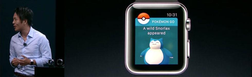 Pokemón Go kommer till Apple Watch