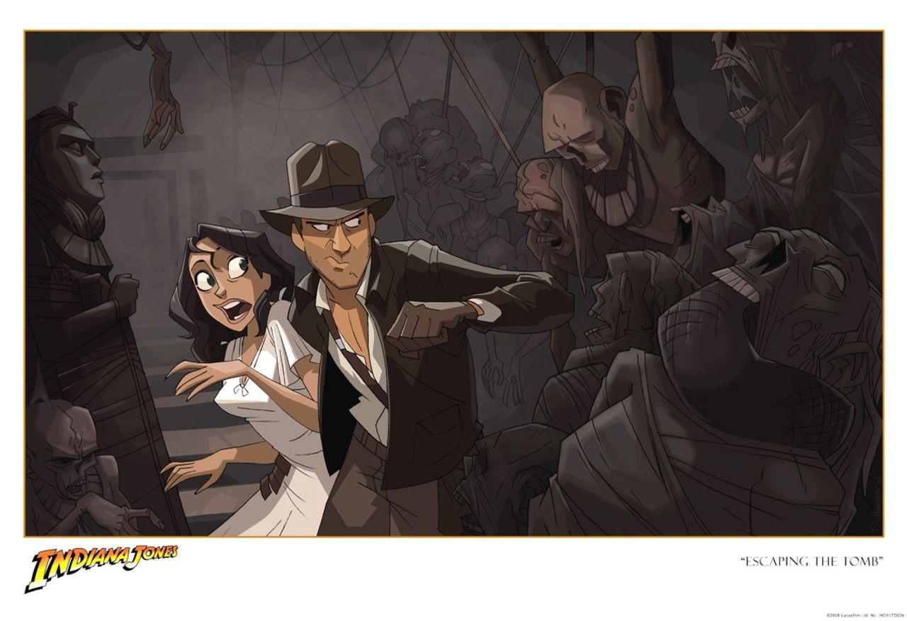 Animerad Indiana Jones-film har premiär den här månaden