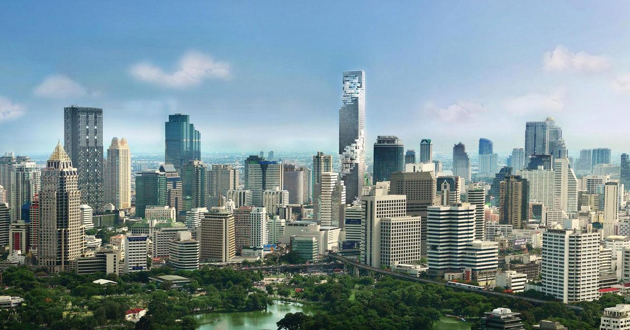 Thailands högsta byggnad är invigd
