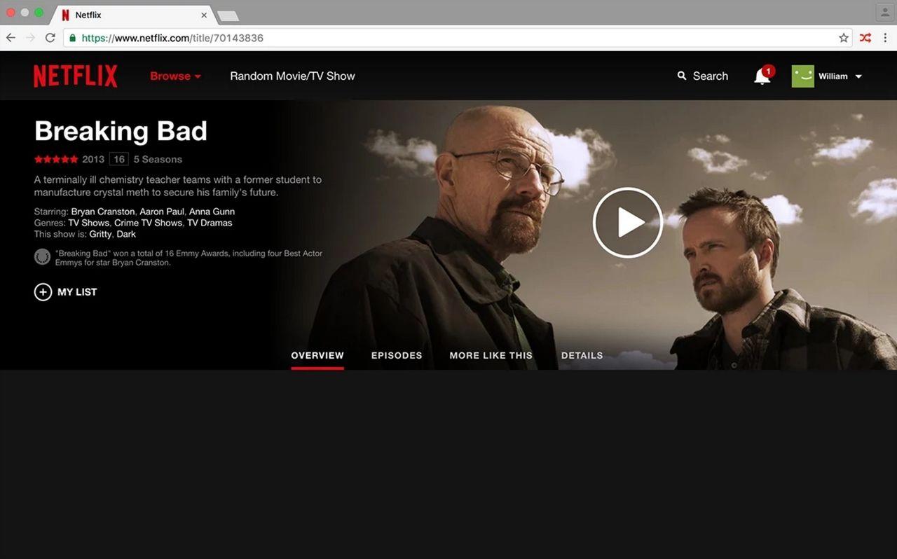 Välj slumpad film med Netflixknapp