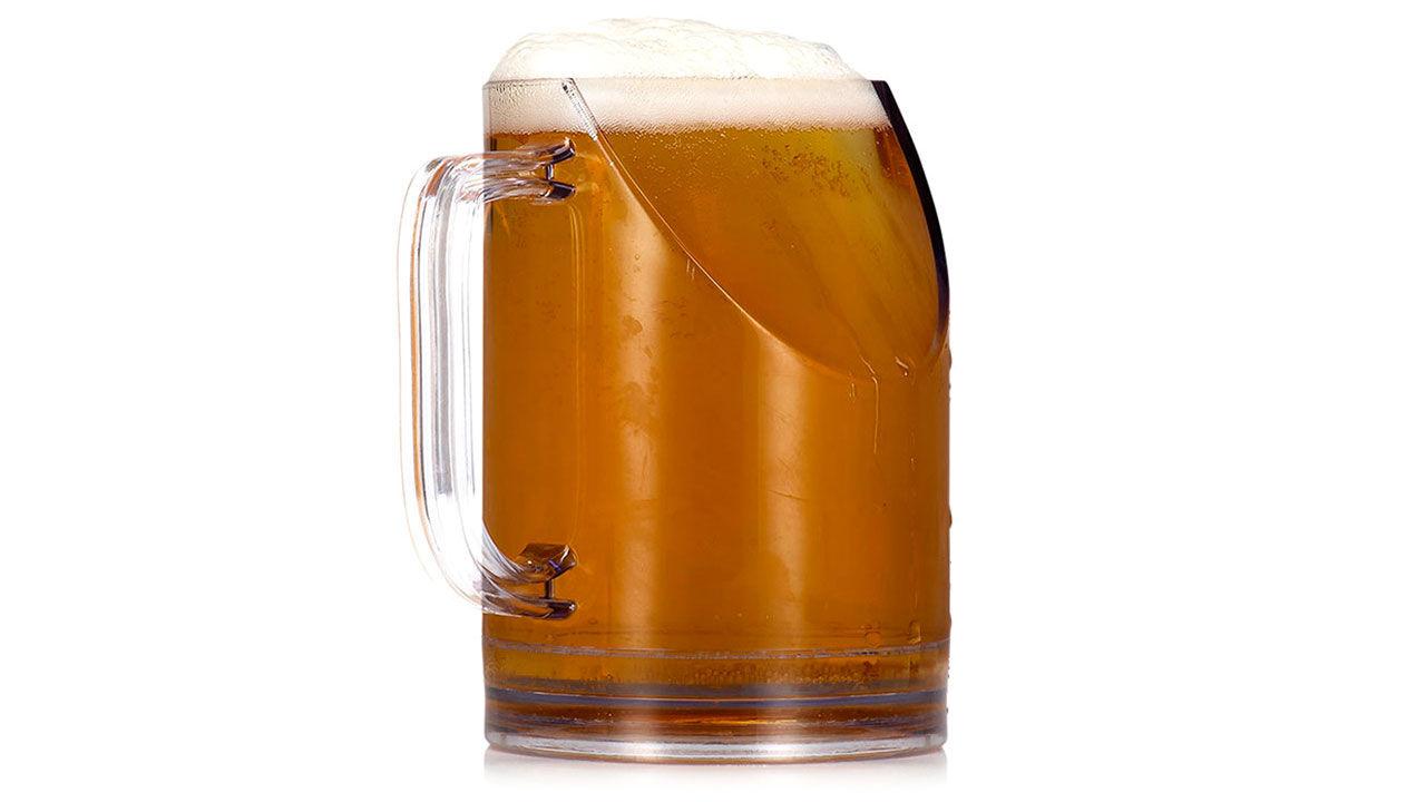 Ölglaset som inte blockerar TV:n