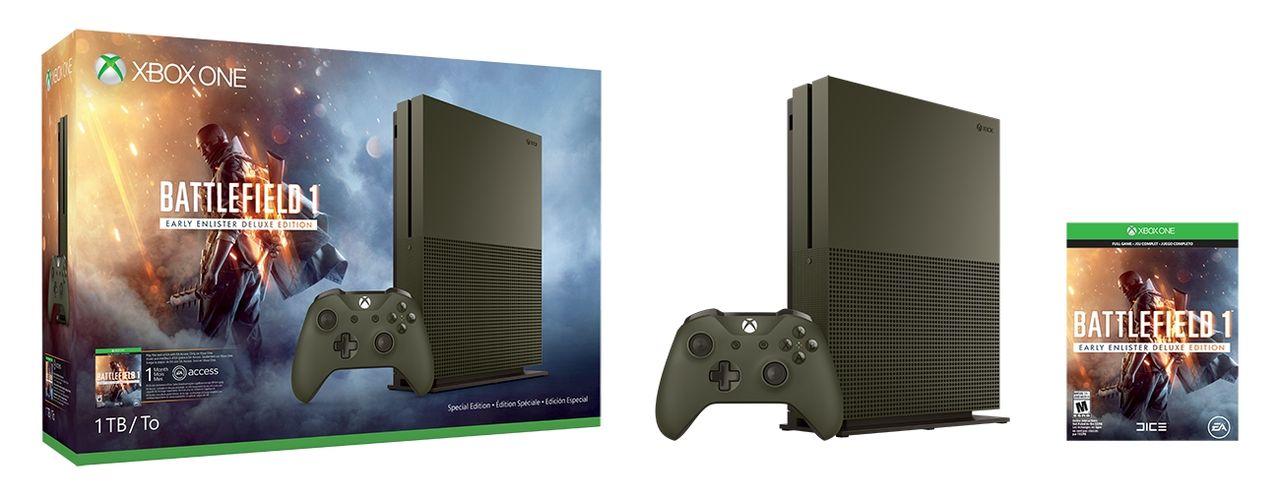 Microsoft visar upp Battlefield 1-version av Xbox One S