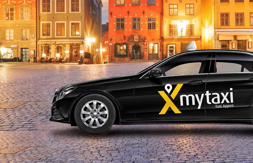 Nu kommer myTaxi till Sverige
