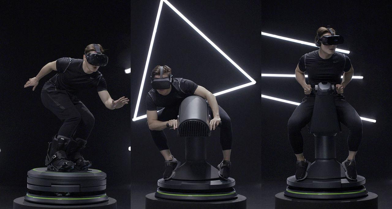 5D Totalmotion är en modulär plattform för VR-upplevelser