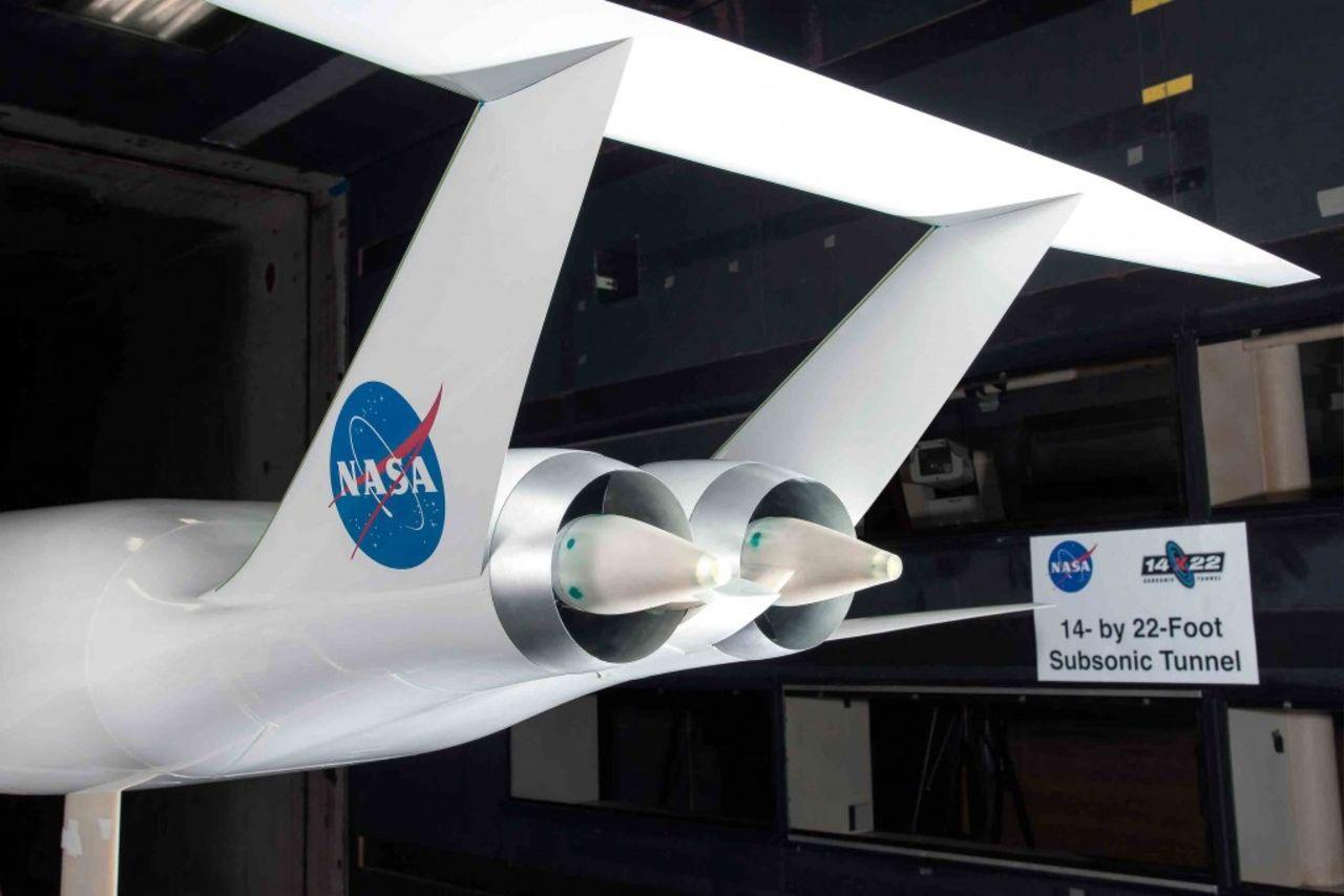 Aurora D8 blir NASA:s nästa flygplan