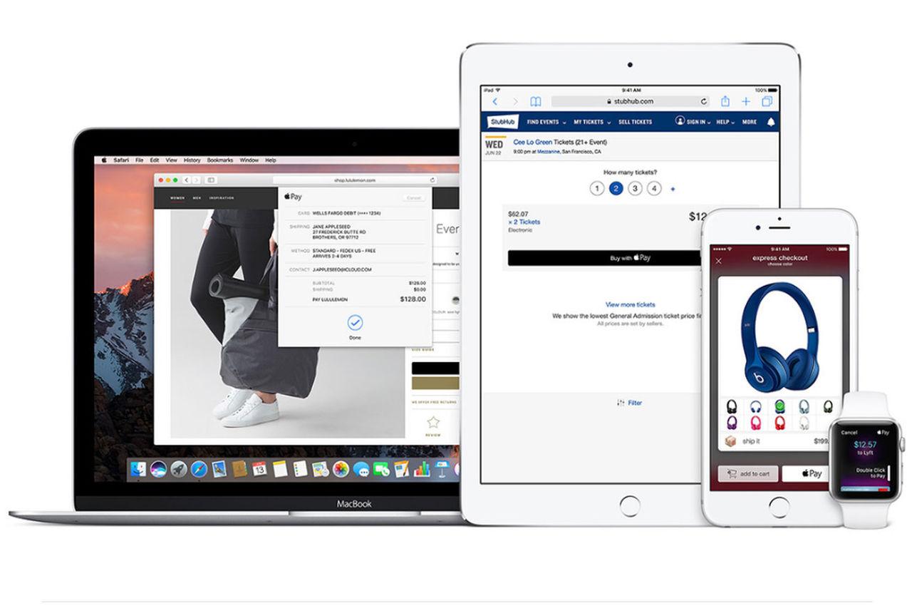 Snart kan man betala via webben med Apple Pay
