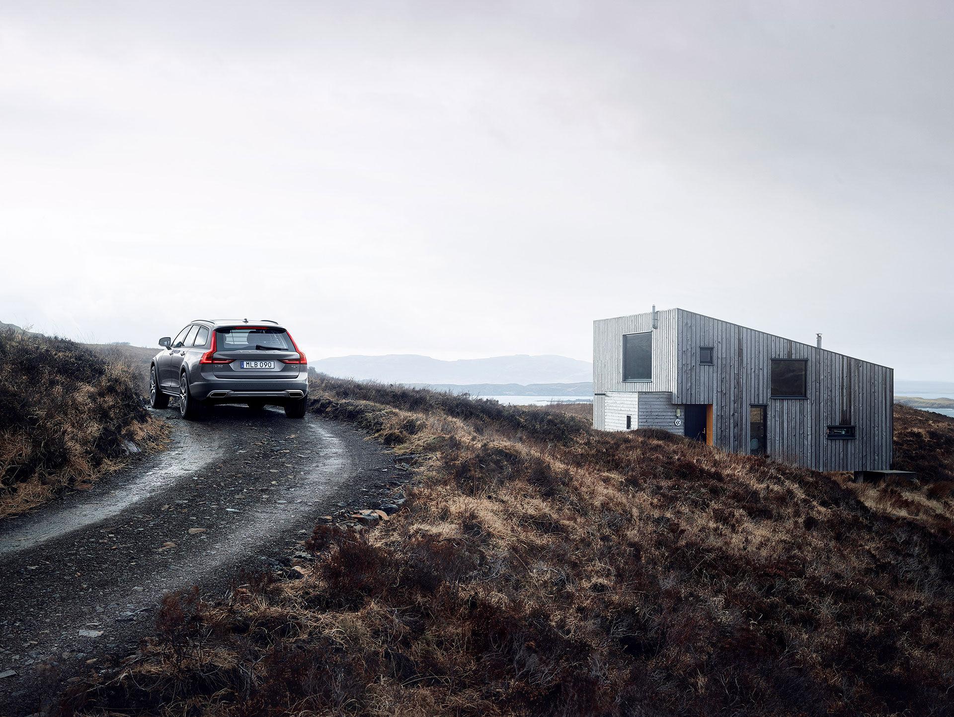 Skogsmulle-versionen av Volvo V90 är här!
