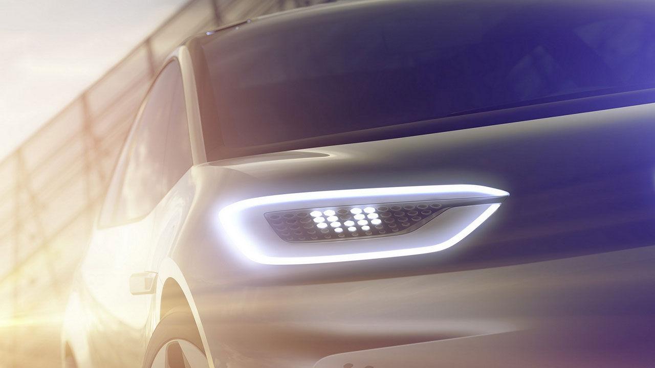 Volkswagen visar lite av ny elbil