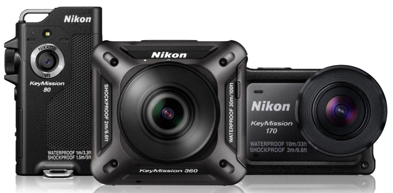 Nikon släpper actionkameror