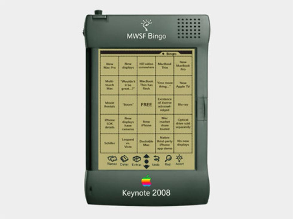 Spela bingo på kvällens keynote