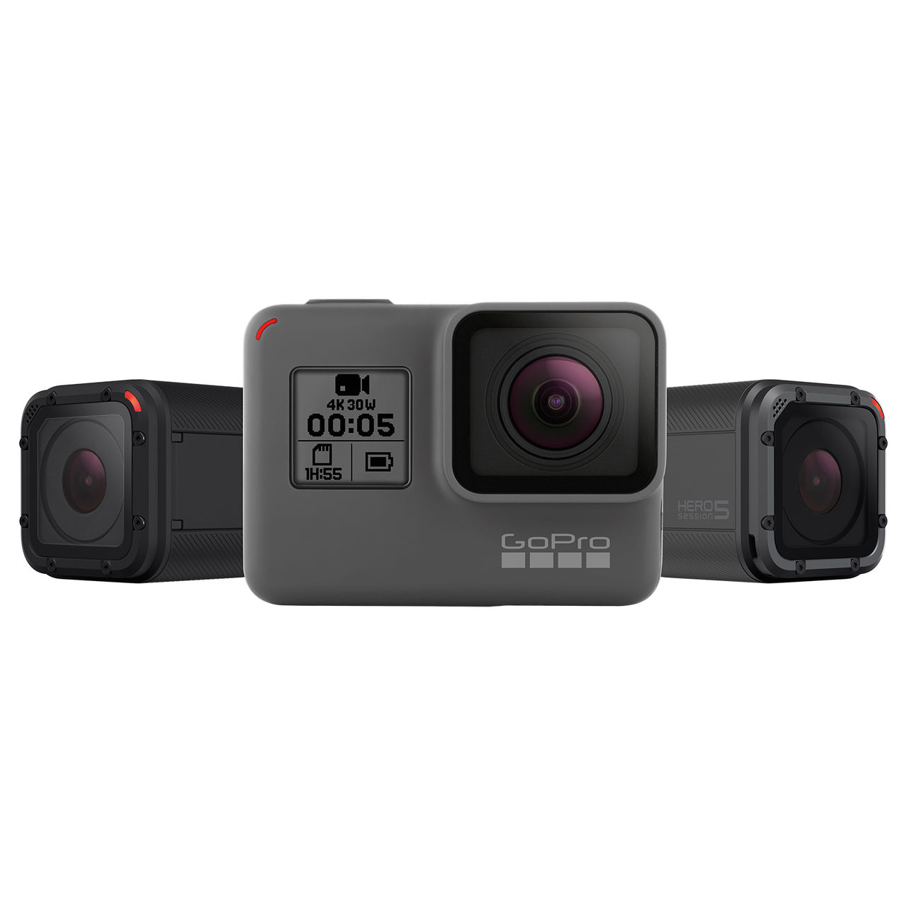GoPro visar upp Hero 5 Black och Session