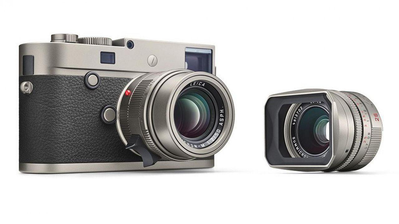 Leica visar upp titanversion av Leica M-P