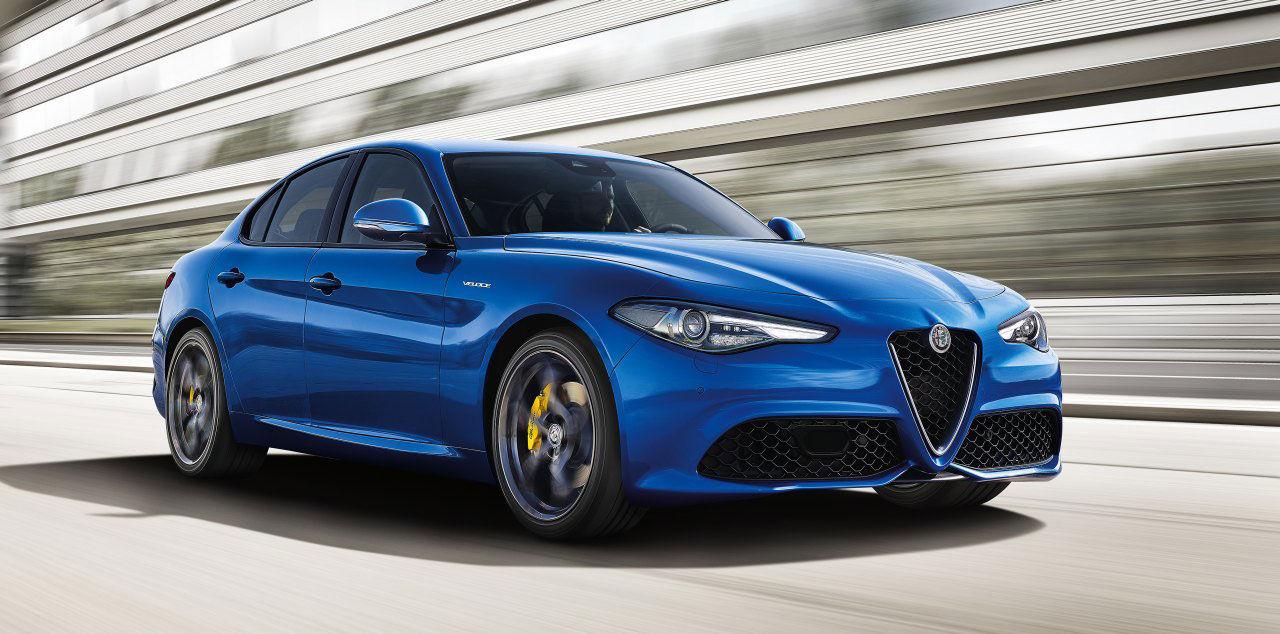 Alfa Romeo presenterar Giulia Veloce