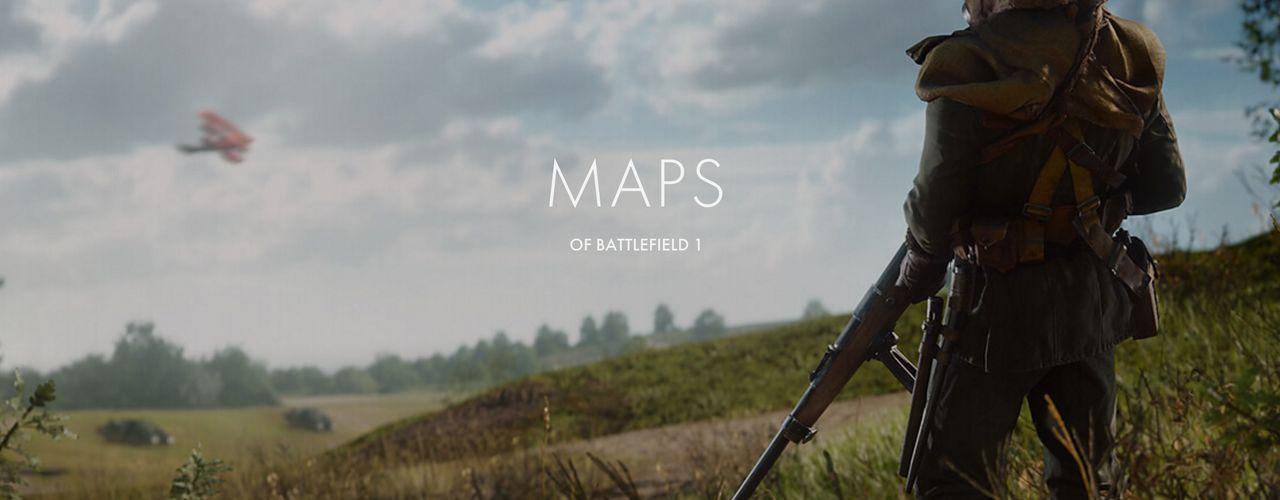 Dessa kartor kommer man kunna spela i Battlefield 1