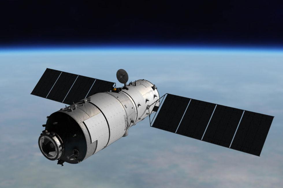Kina har tappat kontrollen över sin rymdstation