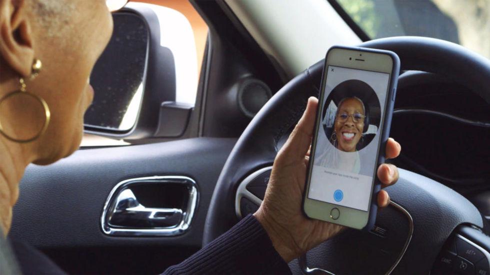 Uber börjar verifiera sina chaufförer med hjälp av selfies