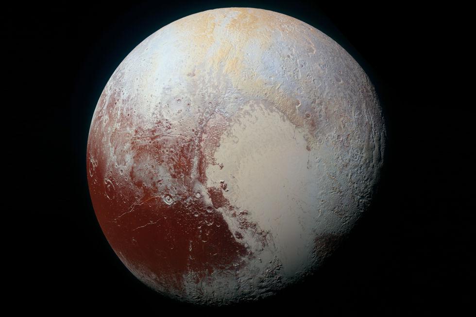Pluto kan ha en 100 kilometer djup ocean