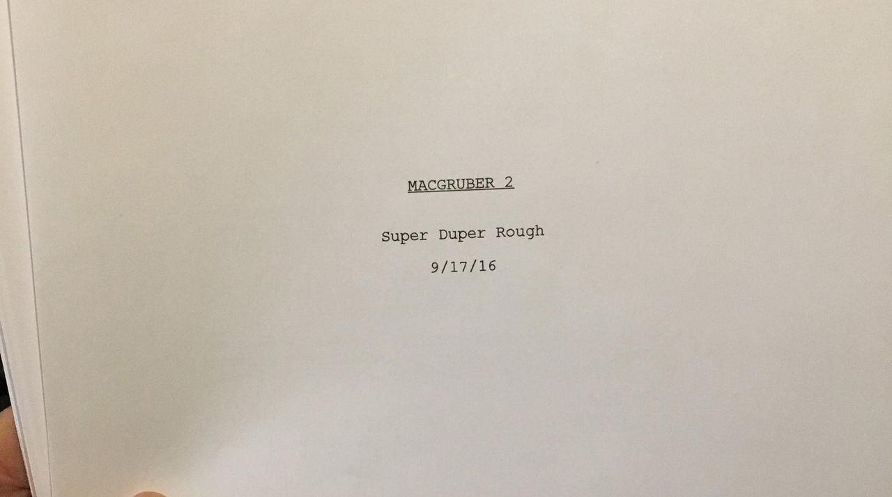 MacGruber 2 kan bli verklighet