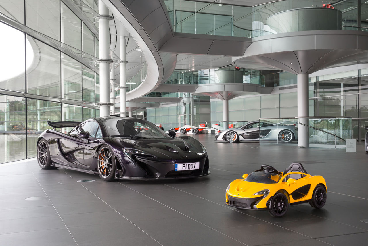 McLaren släpper eldriven version av P1