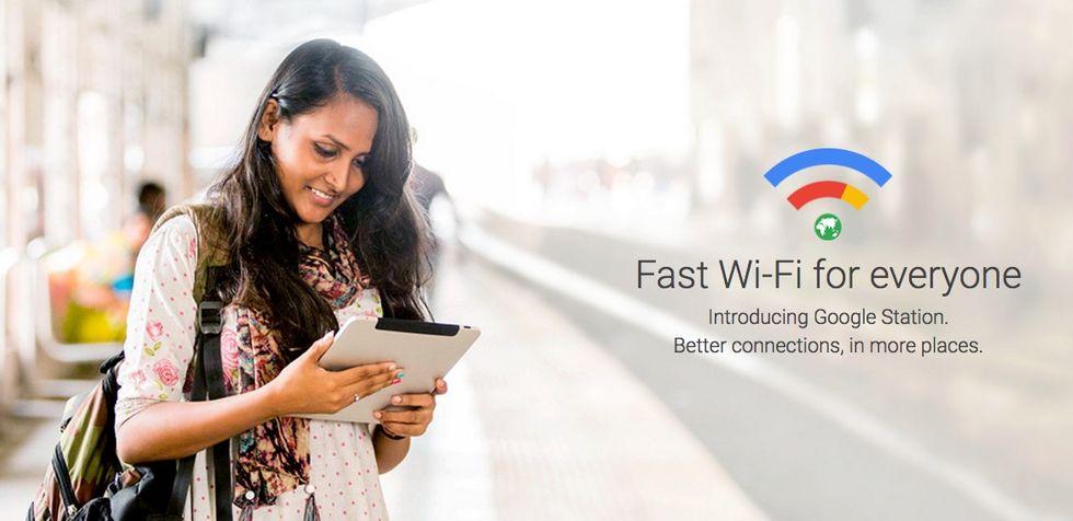 Google Station delar ut gratis wifi på tågstationer