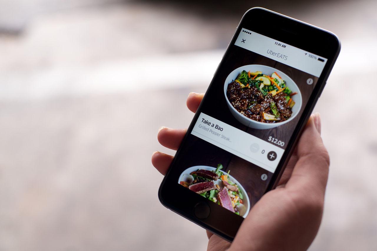 UberEats kommer till Sverige under fjärde kvartalet