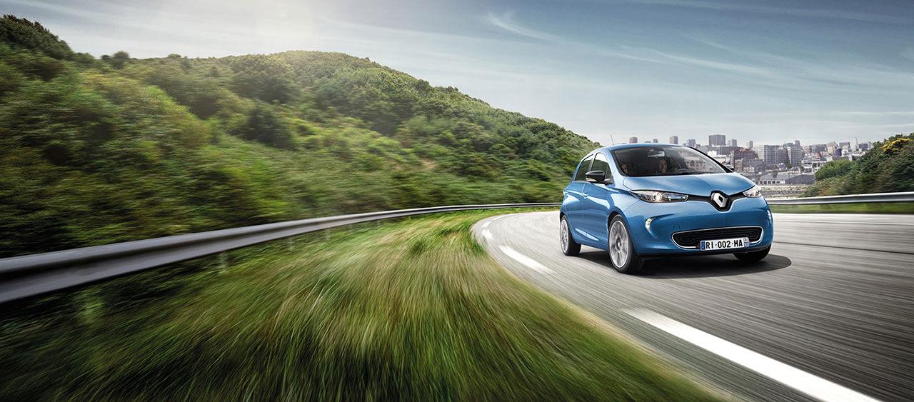 Renault Zoe - nu med 40 mils räckvidd