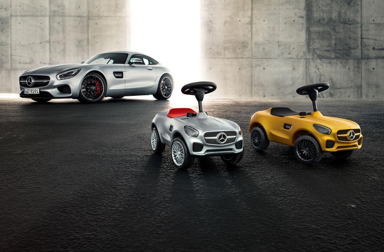Ny Bobby-car från Mercedes och BIG