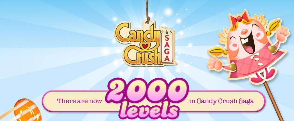 King släpper bana 2000 till Candy Crush Saga