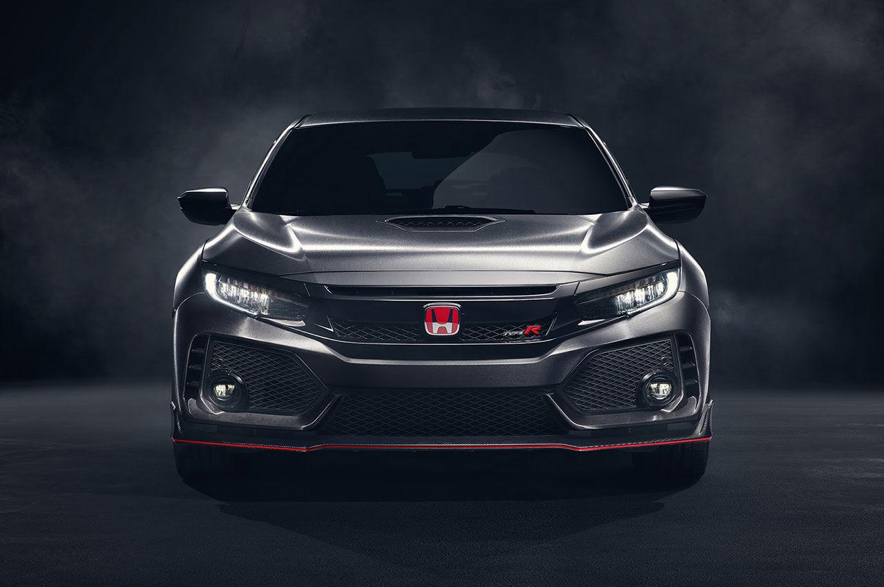 Honda visar ny prototyp av Civic Type R i Paris