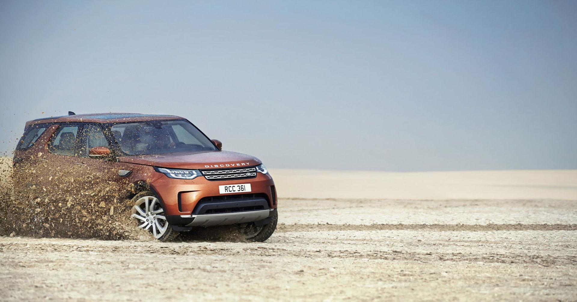 Nya Land Rover Discovery är här på riktigt