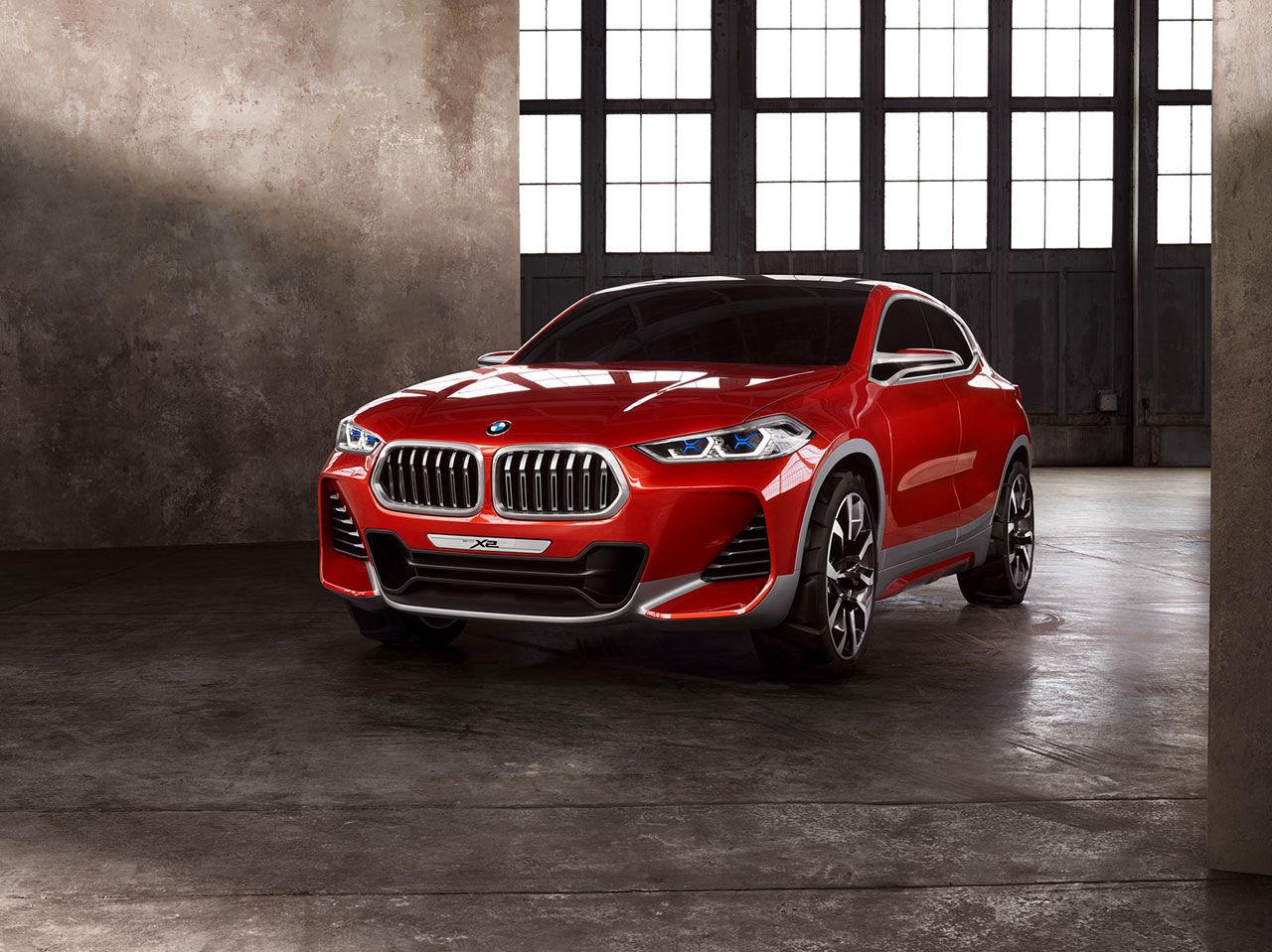 X2 - ny mellansuv från BMW