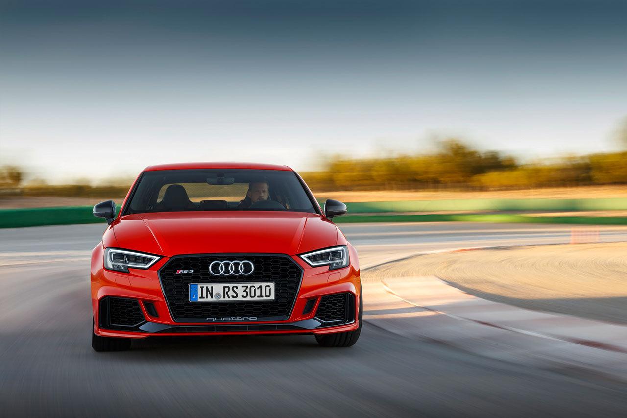 Audi RS 3 nu även i sedan-utförande