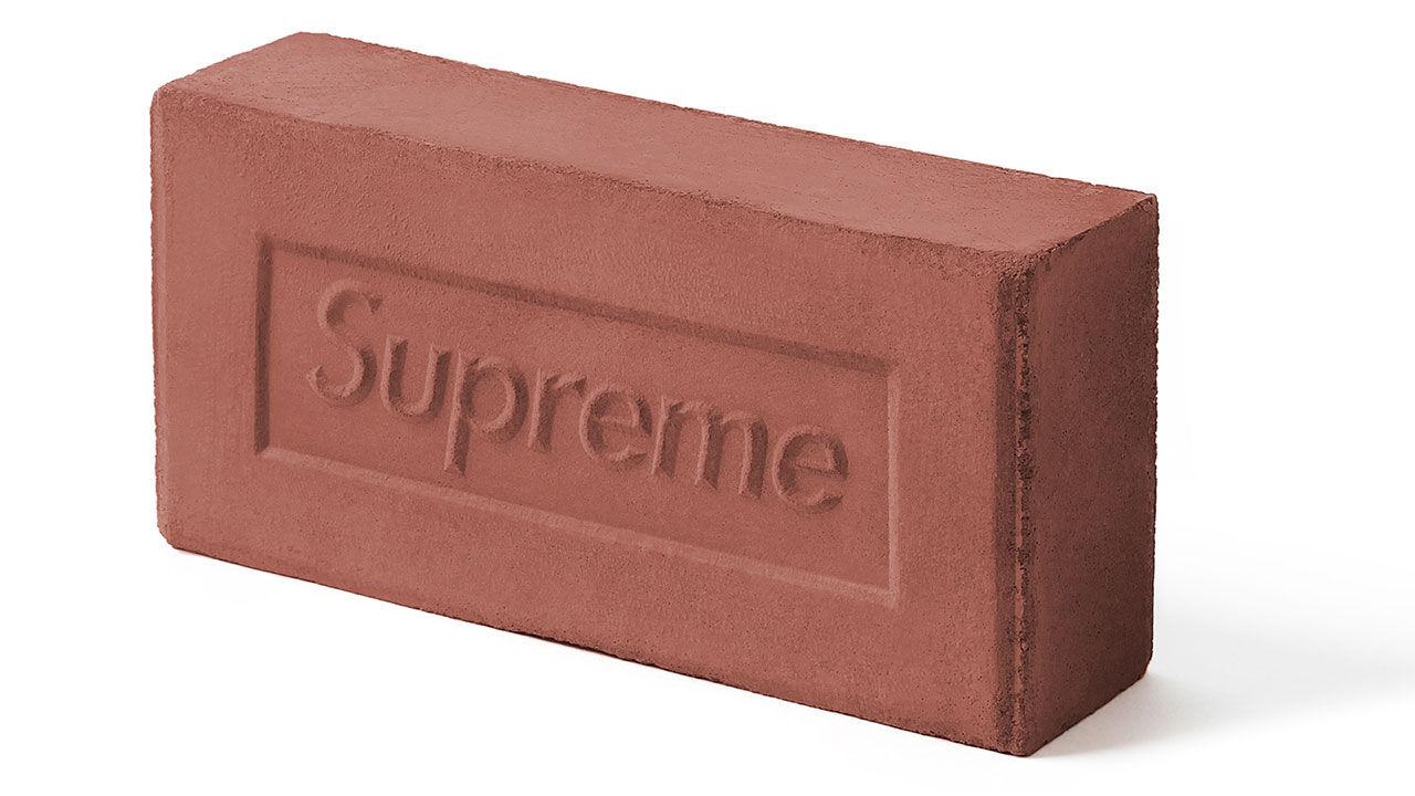 Nu kan du köpa en tegelsten från Supreme